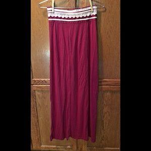 Maxi skirt size M